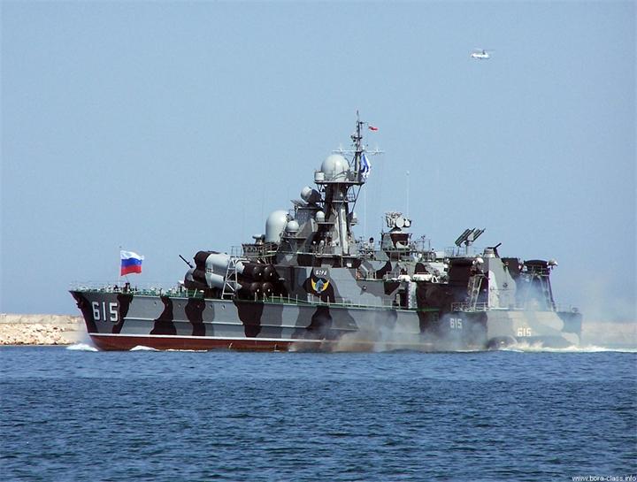 """""""Морской разрушитель"""", который сопровождает наш авианесущий крейсер """"Адмирал Кузнецов"""""""