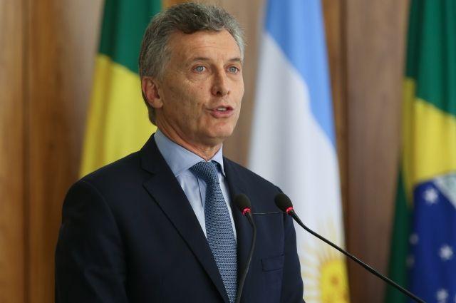 Президент Аргентины прибыл в Россию с официальным визитом