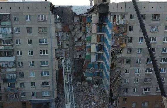 Путин предложил разбить парк на месте обрушившегося дома в Магнитогорске