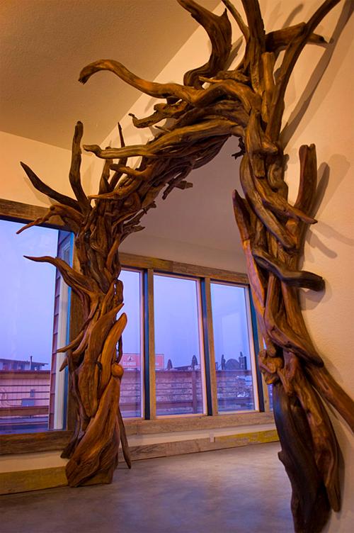 Дерево из коряги