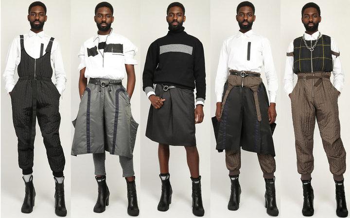 Юбки и каблуки. Посмотрите, что предлагает носить мужчинам итальянский дизайнер