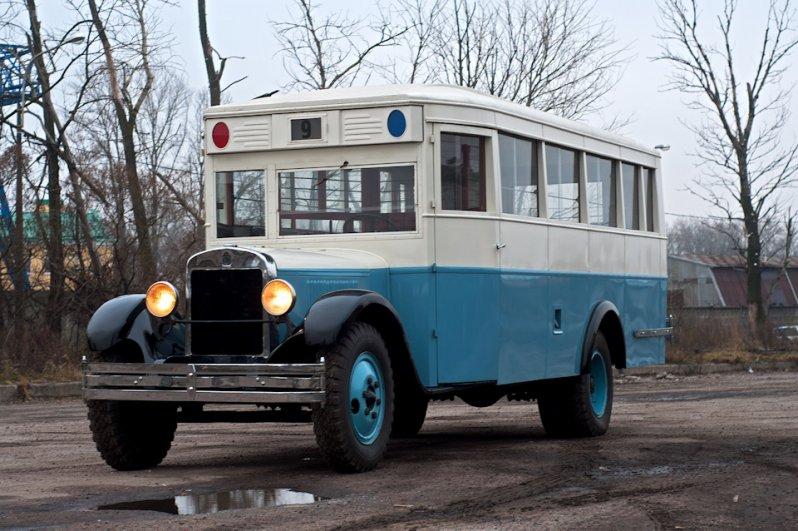 Тест-драйв автобуса ЗИС-8