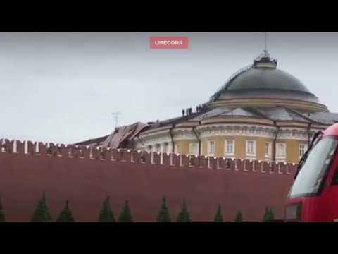 Последствия мощнейшего за последние 100 лет урагана в Москве