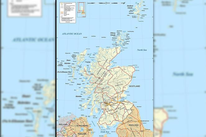 Любопытное о Шотландии