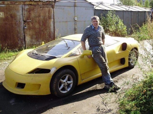 Суперкар из Питера авто, прикол, своими руками, сделай сам