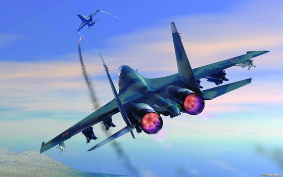 National Interest: Су-35 играючи сбросит F-35