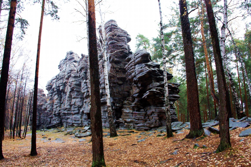 Одно из самых прекрасных мест Урала - Чертово городище