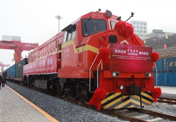 Лондон встретил первый товарный поезд изКитая