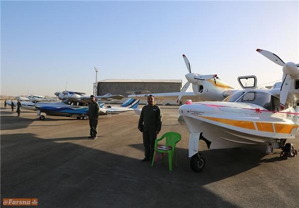 ВМС КСИР Ирана получили легкие гидросамолеты-амфибии АэроВолга ЛА-8 из России