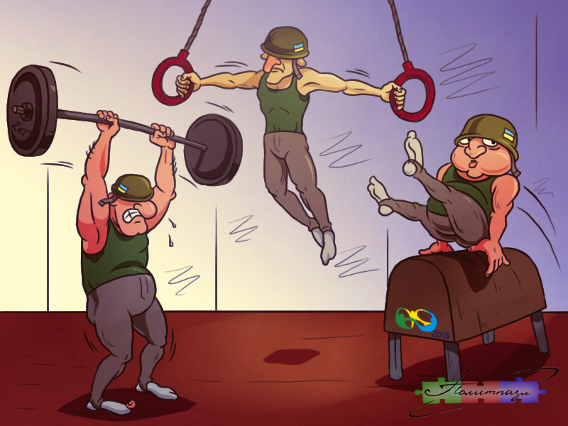 Украине пожертвуют гимнастич…