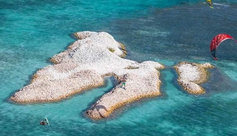 Удивительный Остров раковин на Карибах