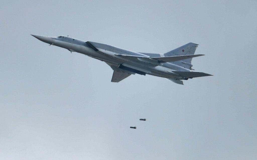 Вылетевшие из России дальние бомбардировщики нанесли удары в Сирии