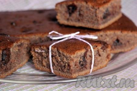 Пирог с шоколадной начинкой рецепт