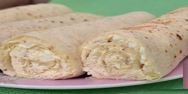 Обалденные рулеты из лаваша и плавленного сыра