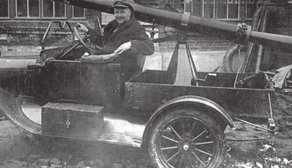 Первое советское противотанковое ружье калибра 37 мм