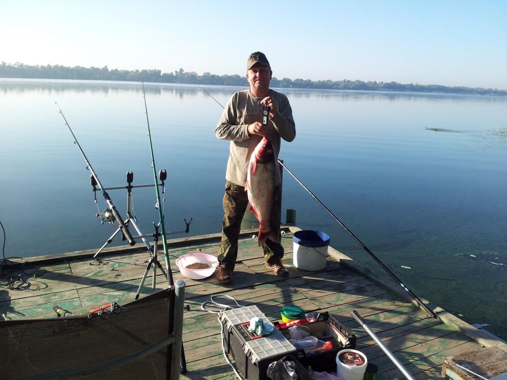 где поймать толстолобика на озере