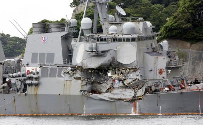 7-й флот США: Мама, позвони в Пентагон, у нас все сломалось
