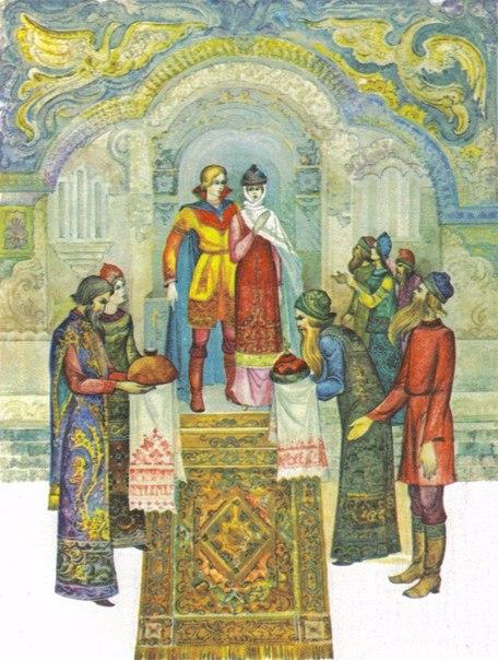 Виктор Лагуна - иллюстрации к сказкам Пушкина