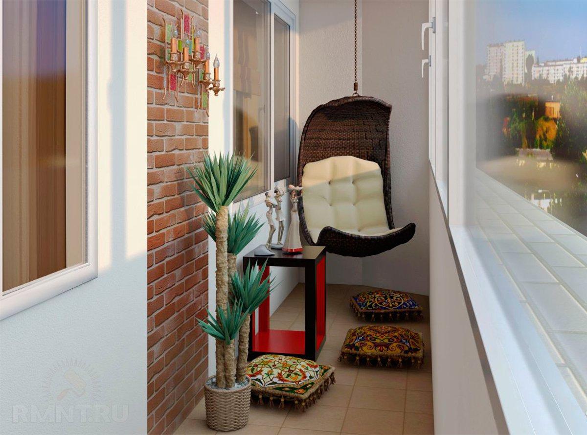 Дизайн проект балконов в квартире