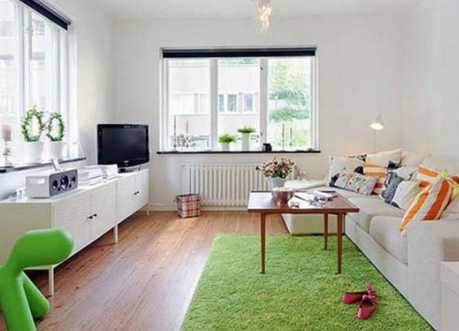 интерьер однокомнатной квартиры 33