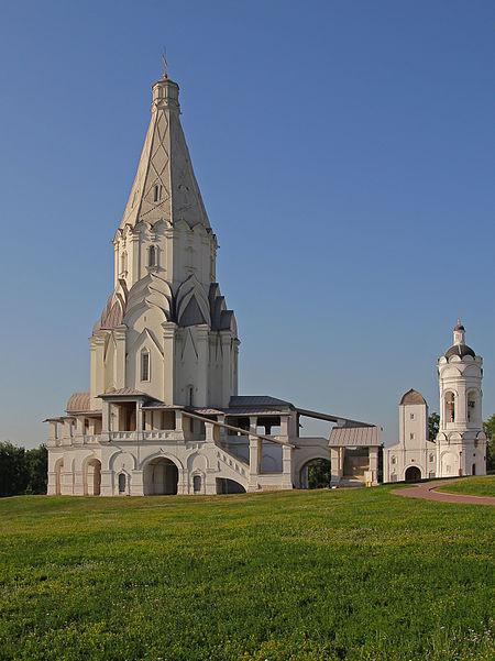 Пришло вам время показать церковь Вознесения в Коломенском (построена в 1532 году). архитектура, загадки, история, история россии, расследования, тайны