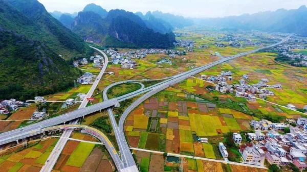 ВКитае началось строительство самой дорогой автодороги вистории страны