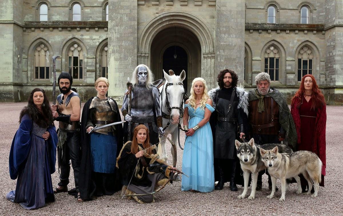 Сумасшедшая свадьба в стиле сериала «Игра престолов»