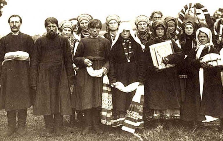 Первая брачная ночь на Руси...