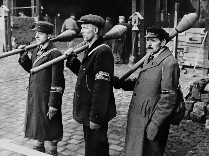 Фольксштурм. Последняя надежда или последний гвоздь Германии? германия, история, факты