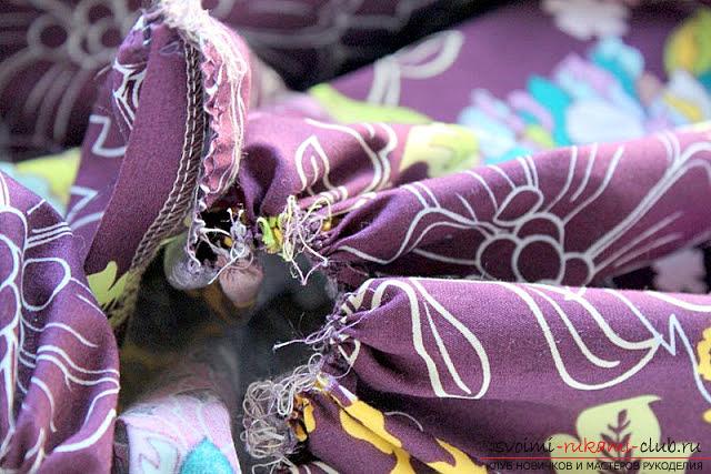 Пошив платья для дочки своими руками по инструкции с фото. Фото №22