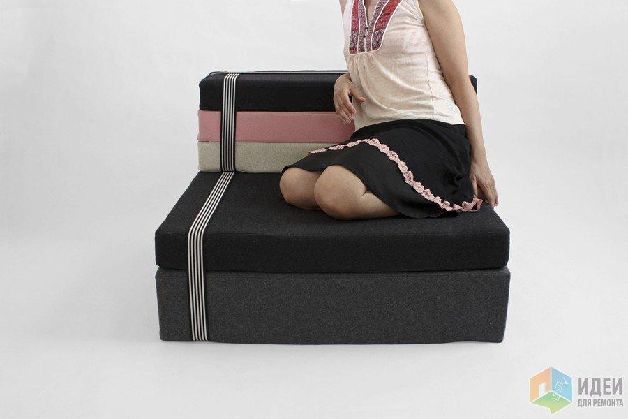 Простейшее модульное кресло