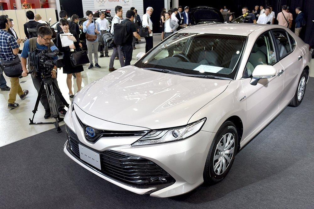 Новая Toyota Camry: когда ждать у нас?