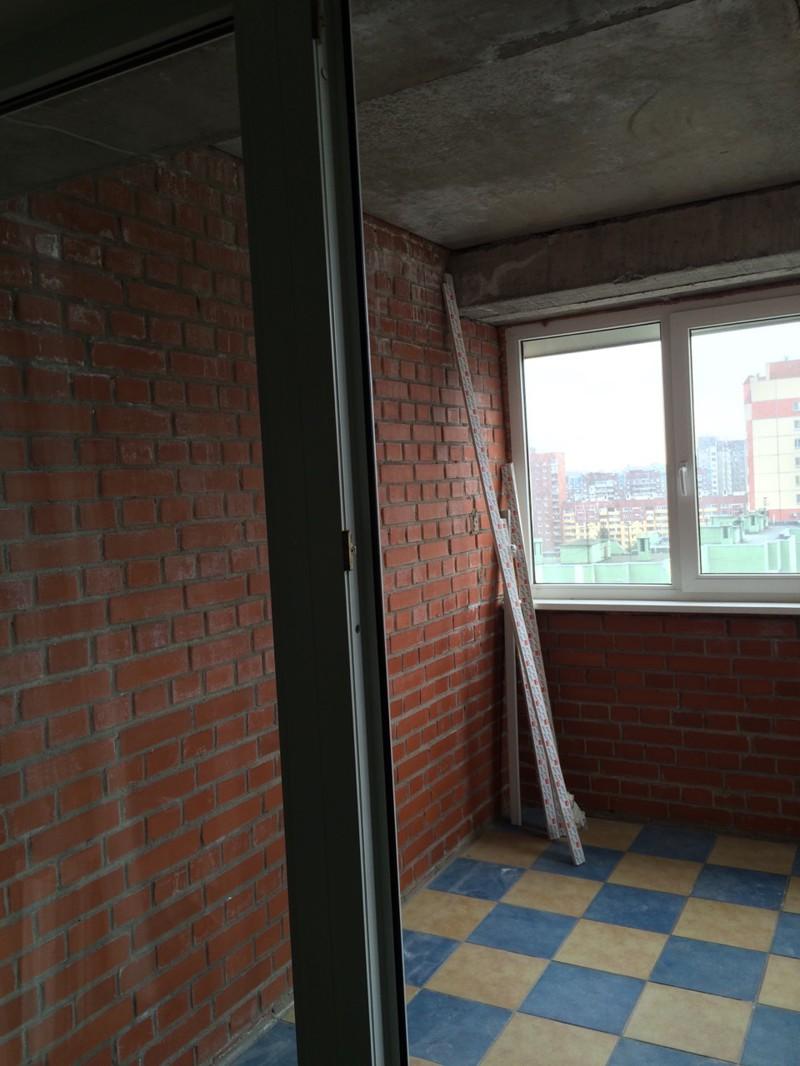 Ремонт балкона 3х3