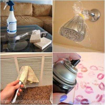 Простые советы по уборке в доме, которые сэкономят ваши деньги и время