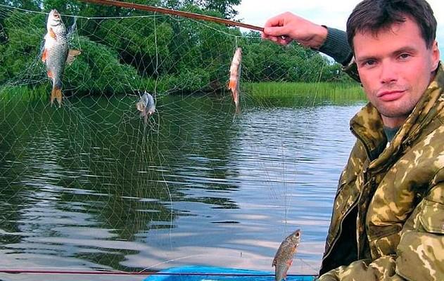 как делать экран для ловли рыбы