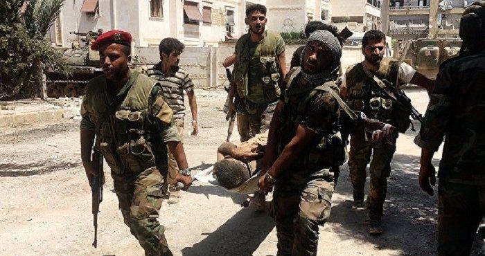 Цена уничтожения боевиков в Алеппо