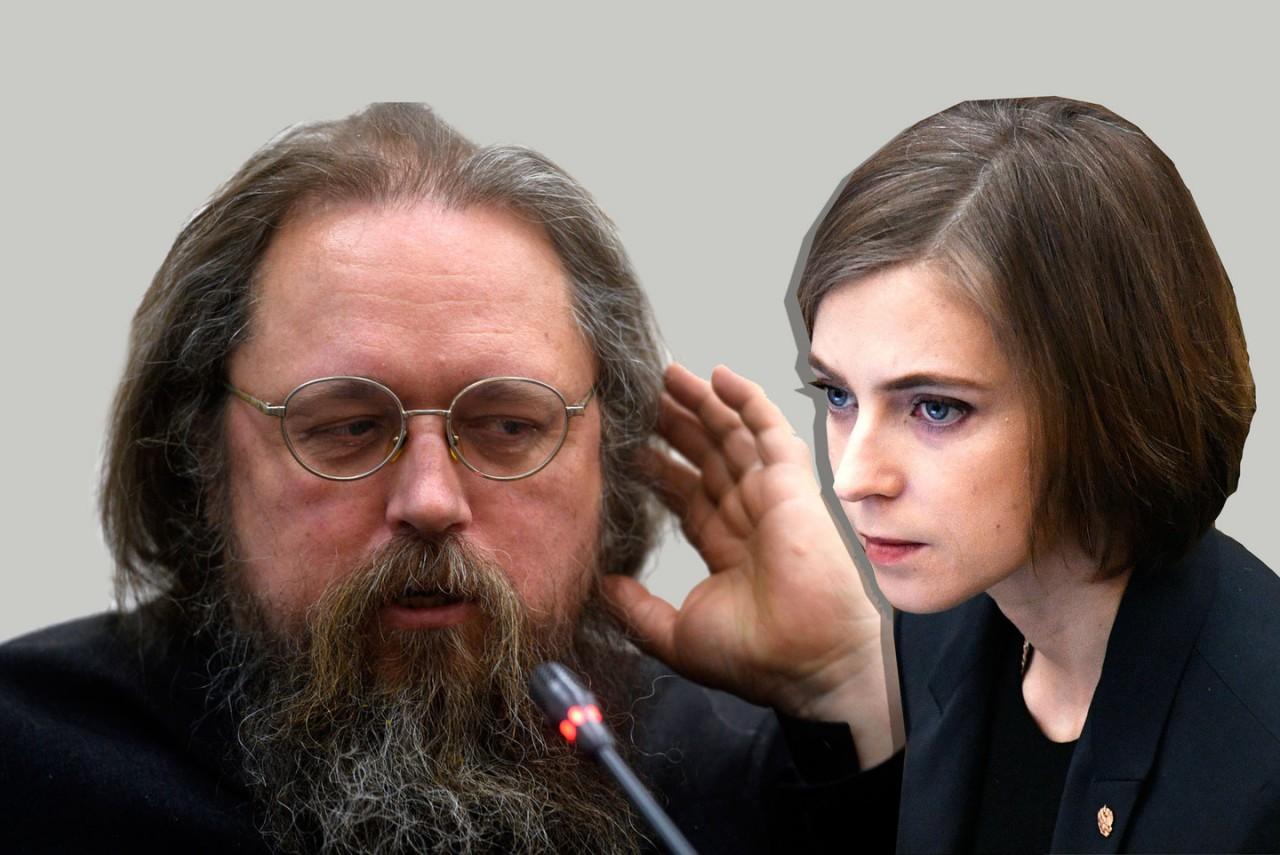 """Кураев: Я могу по фото Поклонской провести мокрой тряпкой, и она """"замироточит"""""""