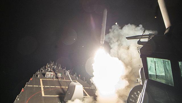 Песков рассказал о реакции Путина на удар США по сирийской авиабазе
