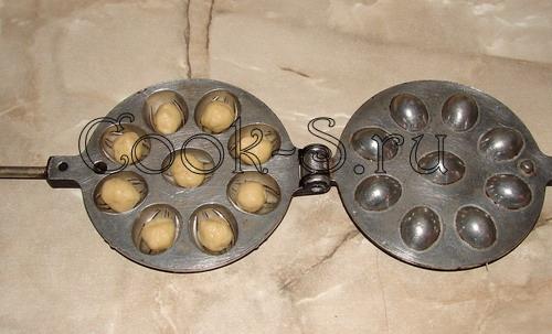 Орешки для орешницы на газу с фото