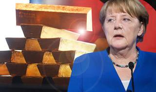 Германия возвращает 50 000 золотых слитков обратно во Франкфурт на фоне коллапса еврозоны