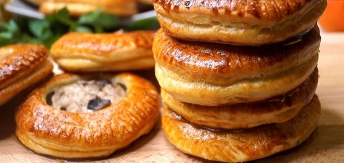 Пирожки «Гусарики» с фаршем:…