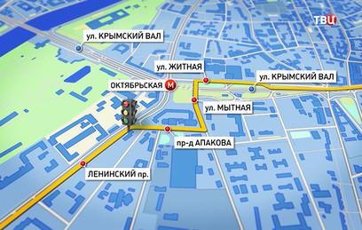 На Садовом кольце открылся поворот на Ленинский проспект