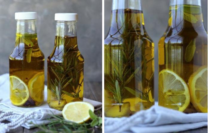 Лимонно-розмариновое масло