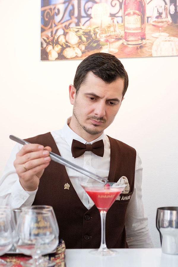 Шоколадный мастер-класс Кристофа Русселя
