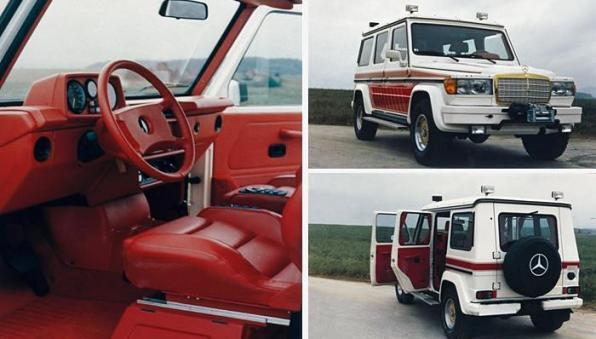 Каким был первый Гелендваген, доработанный Mercedes-AMG