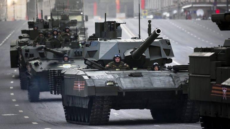 Британские СМИ: «невидимые танки» Путина приведены в боеготовность
