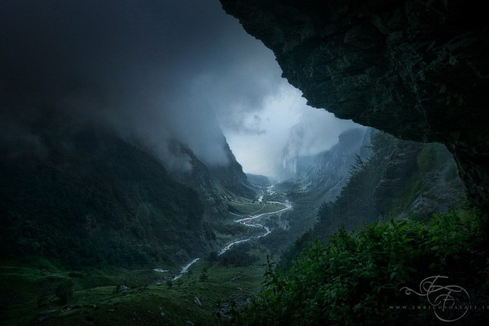 Природа в фотографиях Enrico Fossati