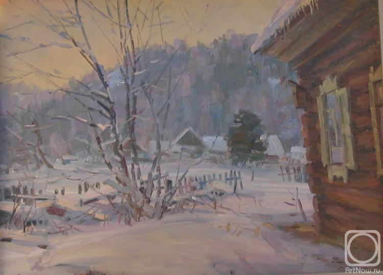 Зимние пейзажи от Александра Бушуева