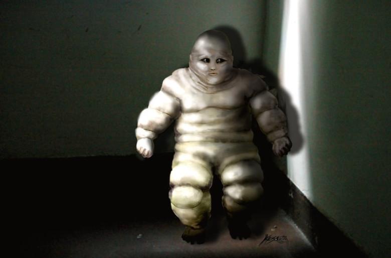 Странные пришельцы, похожие на человечка из «Мишлен», регулярно показывались разным людям