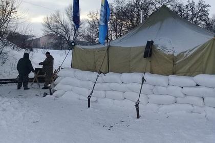 Ветераны АТО заблокировали еще один участок железной дороги в Луганской области